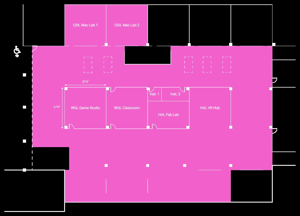 MADD Center floor plan